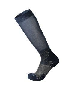 MICO - Calzetto per trekking alto peso leggero - Blu - tg. S
