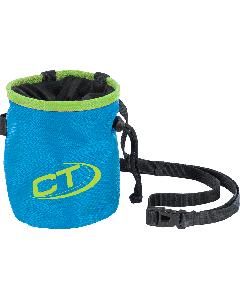 CT - Sacchetto porta magnesite con cinturino Cylinder - Blu