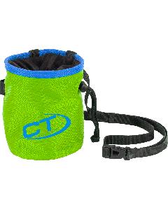CT - Sacchetto porta magnesite con cinturino Cylinder - Verde