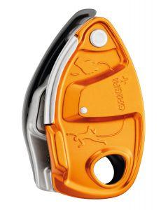 PETZL - Assicuratore per arrampicata Grigri plus - Arancio