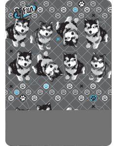 4FUN - Scalda collo scarf 8 in 1 in Polartec e Micro fibra per bambini - colore Husky
