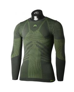 MICO - Maglia uomo intimo girocollo Underwear Extra Dry - Verde