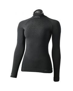 MICO - Maglia donna collo lupetto in Primaloft Super Thermo Underwear