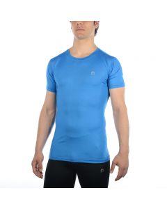 MICO - T-Shirt uomo girocollo Oxi Jet per la corsa - Blu