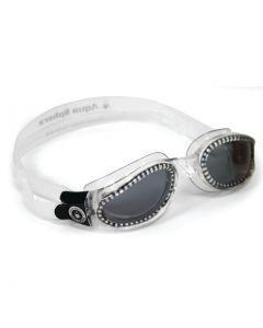 AQUA SPHERE - Occhiali per nuoto Kaiman - Trasparente lente scura