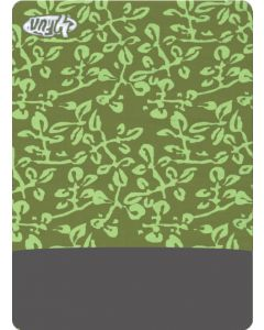 4FUN - Scalda collo scarf 8 in 1 in Polartec e Micro fibra - colore Leaves Olive