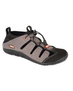 LIZARD - Sandalo chiuso in micro fibra suola Vibram Ibrido II M - Dark Grey - tg. 44