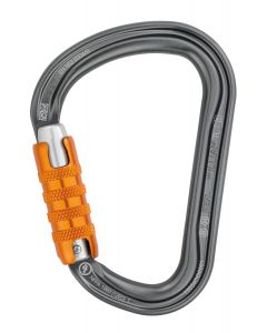 PETZL - Moschettone super base larga ghiera tripla sicurezza Williams Triact Lock
