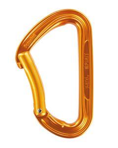 PETZL - Moschettone leva curva assimetrico Spirit - Arancio