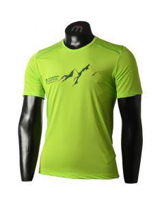 MICO - T-Shirt uomo girocollo per trekking Micro Flight - Verde