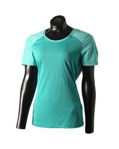 MICO - T-Shirt donna girocollo per trekking e corsa Flight - Smeraldo