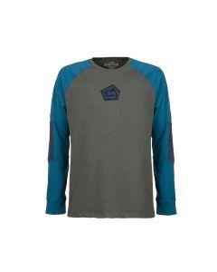 E9 - T-Shirt uomo manica lunga canapa Nino - Iron