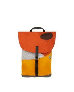 E9 - Zainetto con patta Crissi - Arancio