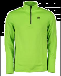 MICO - Maglia uomo mezza zip Quantum Mid Layer Outer Wear - Verde