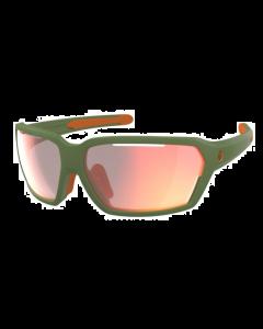 SCOTT - Occhiali da sole tecnico avvolgente Vector categoria S 1 - Verde lente pink