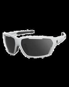 SCOTT - Occhiali da sole tecnico avvolgente Vector categoria S 3 - Bianco lente grigia