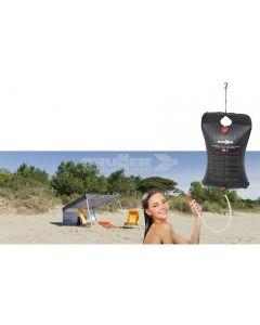 BRUNNER - Sacca nera per la doccia in campeggio 20L Solar PHF