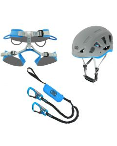 KONG - Set completo da ferrata casco longe imbrago Arrampicata 1