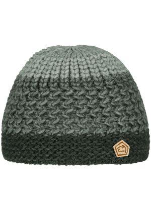 E9 - Cappello in lana lavorazione maglia grossa Tre - Sage Green
