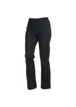 CMP - Pantalone donna invernale Softshell - Nero - tg.L