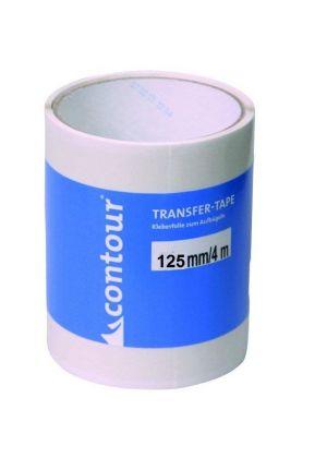 CONTOUR - Rotolo colla per pelli transfer tape 4 mt larghezza 125 mm