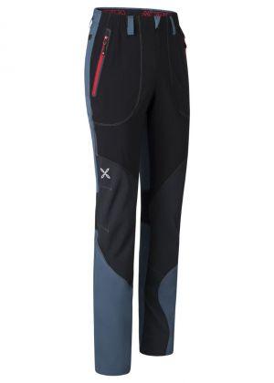 MONTURA - Pantalone uomo leggero con rinforzi Vertigo Light - Blu cenere Rosso