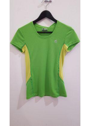 MICO - T-Shirt donna per la corsa e trekking - Verde