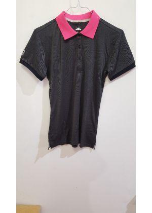 MICO - T-Shirt donna polo - Grigio