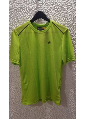 MICO - T-Shirt uomo girocollo Dry Clim Mid Layer Outer Wear - Verde