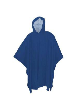 BRUNNER - Impermeabile Poncho Rainman Blu