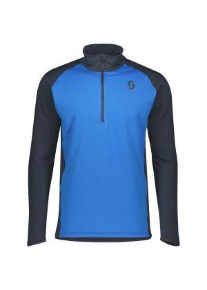 SCOTT - Maglia uomo mezza zip Pullover Defined Light - Blu