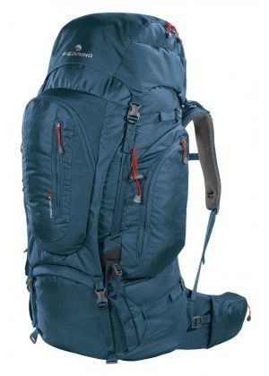 FERRINO - Zaino schienale regolabile per trekking viaggio Transalp 60 - Blu