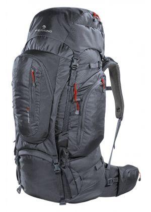 FERRINO - Zaino schienale regolabile per trekking viaggio Transalp 60 - Nero