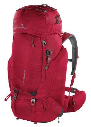 FERRINO - Zaino per trekking viaggio Rambler 75 - Rosso