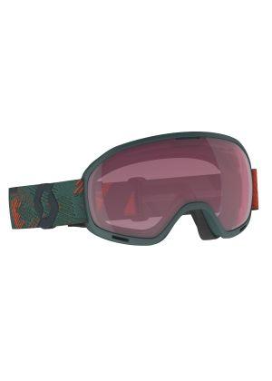 SCOTT - Maschera per sci e snowboard cat. S2 Unlimited II OTG per chi indossa occhiali da vista  - Verde