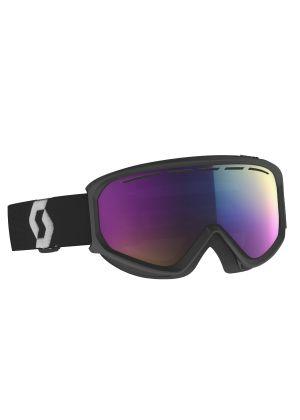 SCOTT - Maschera per sci e snowboard cat. S2 Fact Chrome - Nero Purple