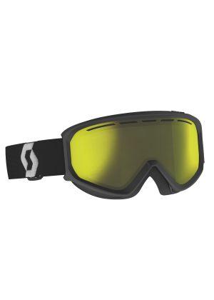 SCOTT - Maschera per sci e snowboard cat. S2 Fact Chrome - Nero Yellow