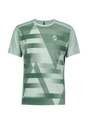 SCOTT - T-Shirt uomo manica corta per corsa trekking Defined - Verde