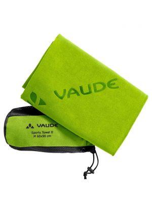 VAUDE - Asciugamano in micro fibra con custodia Sports Towel II S 40x80 cm - Verde