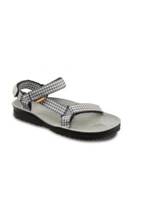 LIZARD - Sandalo plantare in pelle sportivo Super Hike - Check Grey - tg. 36