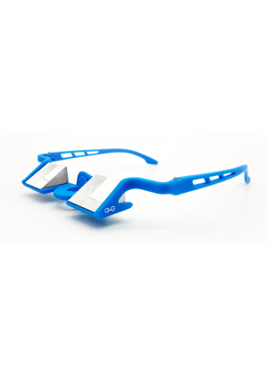 YY VERTICAL - Occhiali da sicura con prisma montatura policarbonato Plasfun Evo - Blu