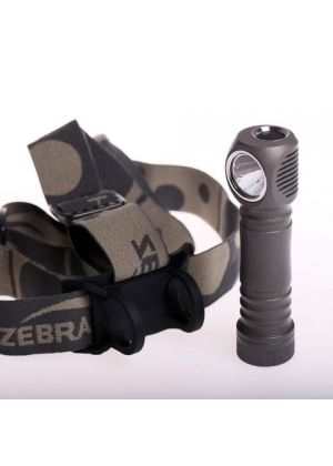 ZEBRA LIGHT - Set di due luci frontali spot e progressione H600d - H604c