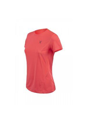 MONTURA - T-Shirt donna manica corta Outdoor World - Corallo