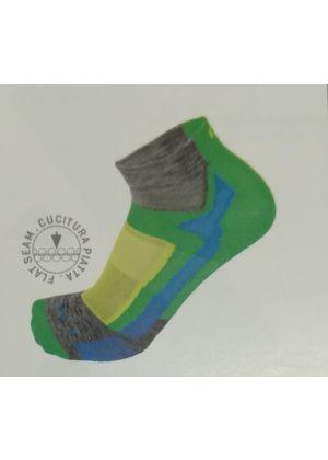 MICO - Calzetto corto studiato per la corsa leggero - Grigio