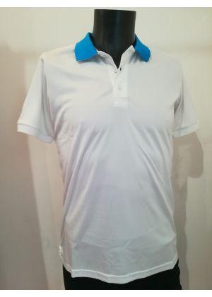 MICO - T-Shirt uomo polo bianco