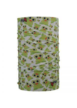 4FUN - Scalda collo scarf 8 in 1 in micro fibra Standard per bambini - colore Frog