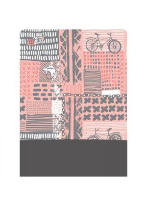 4FUN - Scalda collo scarf 8 in 1 in Polartec e Micro fibra - colore Lady Bike