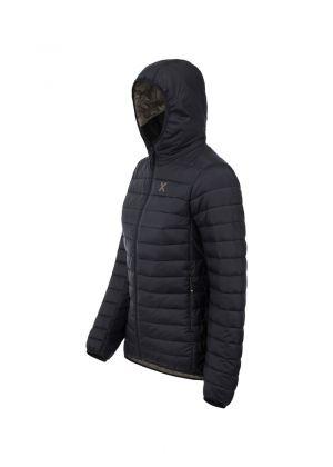 MONTURA Piumino donna con cappuccio sotto giacca Genesis Hoody - Nero - tg. XL