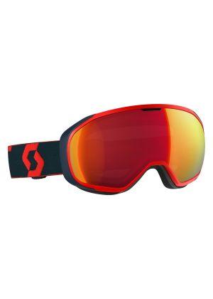 SCOTT - Maschera da sci Fix lente illu blue chrome S1 Rosso