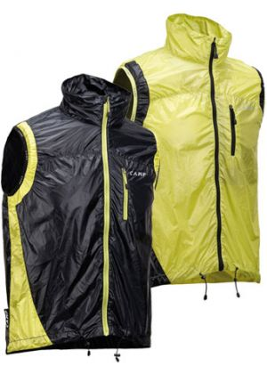 CAMP - Gile anti vento leggero Magic Vest - Nero - tg. S